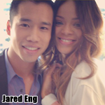 Rihanna und JustJared-Blogger Jared Eng
