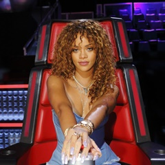 "Rihanna the ""The Voice USA"" (Tag 3)"