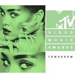 Rihannas Promo-Bild für die MTV Video Music Awards 2016