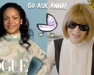 Rihanna und Anna Wintour im VOGUE Video-Interview