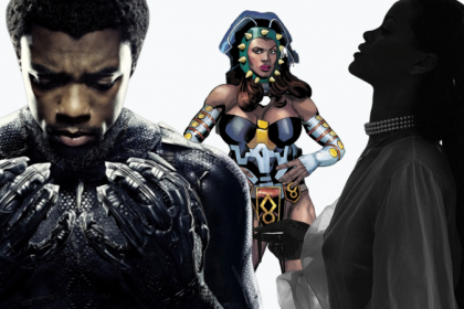 T'Challa, Princess Zanda und Rihanna in Black Panther 2