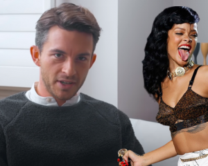 Jonathan Bailey recounts embarrassing Rihanna moment at a Netflix party in an interview with Harper's Bazaar UK