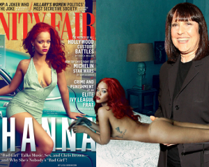 Lisa Robinson remembers her 2015 Vanity Fair interview with Rihanna in January 2021