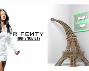 "Rihanna's luxury fashion line Fenty will be part of Highsnobiety's digitial exhibition ""Not In Paris II"" (January 20 - 26 2021)"